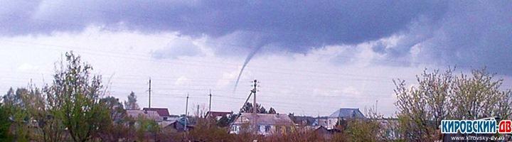 Ураган в Кировском